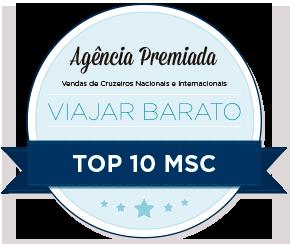Prêmio Top 10 MSC Cruzeiros